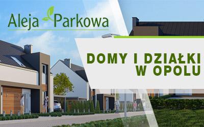 Aleja Parkowa - działki budowlane w Opolu